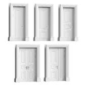 A set of classic doors