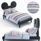 Mickey Mouse - Mickey Mouse bed by DG HOME
