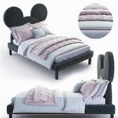 Детская кровать Микки Маус - Mickey Mouse bed от DG HOME