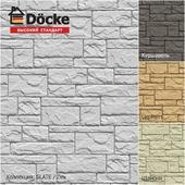 Фасадные панели от производителя Döcke / Коллекция SLATE