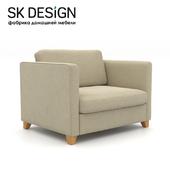 OM Bari wide folding chair MT 96