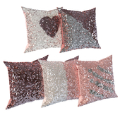 Shiny pillows