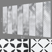 Decorative wall 228.