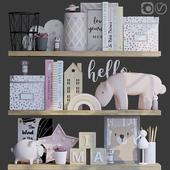 Декоративный набор для детской девочки