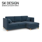 OM Corner sofa bed Bari EKL