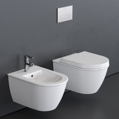 Duravit Darling New Wall-hung WC