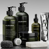 Bolia - Aurora bathroom set 01