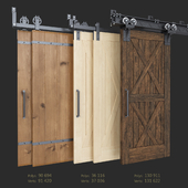 Sliding Barn Door (Garrick Barn, Classic, I-Beam)