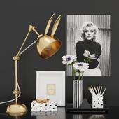 Decorative Set Black&White