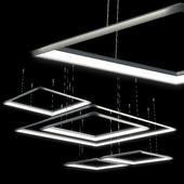 arrangement of TLCU LUCHERA lamps