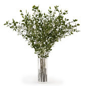 Branches in a vase 008