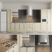 Kitchen from Michelangelo's kitchen factory