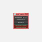 VRayHDRI Filter Sharpness