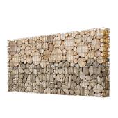 Wooden gabion 1