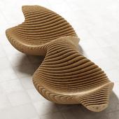 Parametric bench / Параметрическая скамья