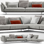 Sofa flexform evergreen