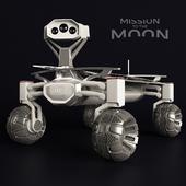 Moon Rover Audi Lunar Quattro