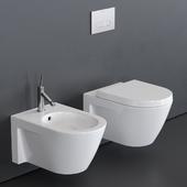 Duravit Starck 2 Wall-hung WC