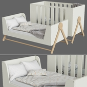 Children's bed in a modern style