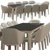 Busnelli Manda dining set