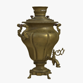 Samovar of the Shemarins Brothers Trading House