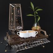Декоративный набор с кофейными зернами