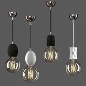 Pendant lamp from loft-concept