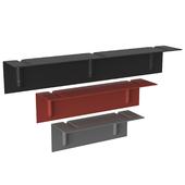 Brackets incl shelf