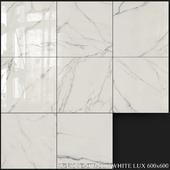 ABK Sensi Statuario White Lux 600x600
