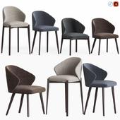 Ellen Astele Dining Chairs Set