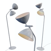 DAGMAR, floor lamp from the company MARKSLOJD, Sweden.