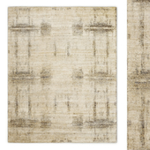 Axis Hand-Knotted Wool Rug RH