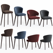 Minotti Aston Chairs Set