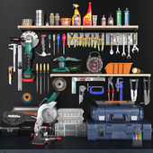 garage tools set 2