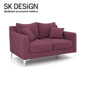 OM Двухместный диван Mendini ST 116