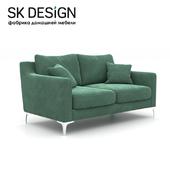 OM Двухместный диван Mendini ST 136