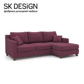 OM Угловой диван-кровать Mendini EKL