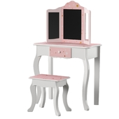 Fashion Prints Star Dressing Table Set with Mirror