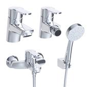 Roca Victoria faucets for sink, bath and bidet