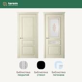 """Фабрика межкомнатных дверей """"Терем"""": модель Rimini 4 Britania (коллекция Classic)"""