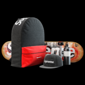 Supreme decorative set (black)