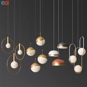 Four Hanging Light Set 07