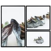 Series of works ORIENTO Copper Rabit | set 33