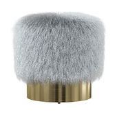 Doutzen Fur Stool