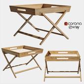 Amaze folding side table
