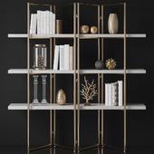 Kupa Concrete Bookcase