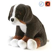 ХОППИГ Мягкая игрушка бернская овчарка белый