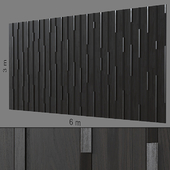 Декоративная стена 235.