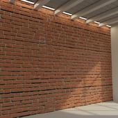 Brick wall. Old brick. 68