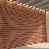 Brick wall. Old brick. 69